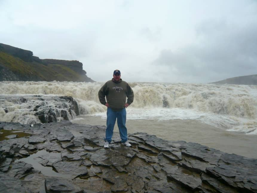 Mike Gullfoss Waterfall Rocks
