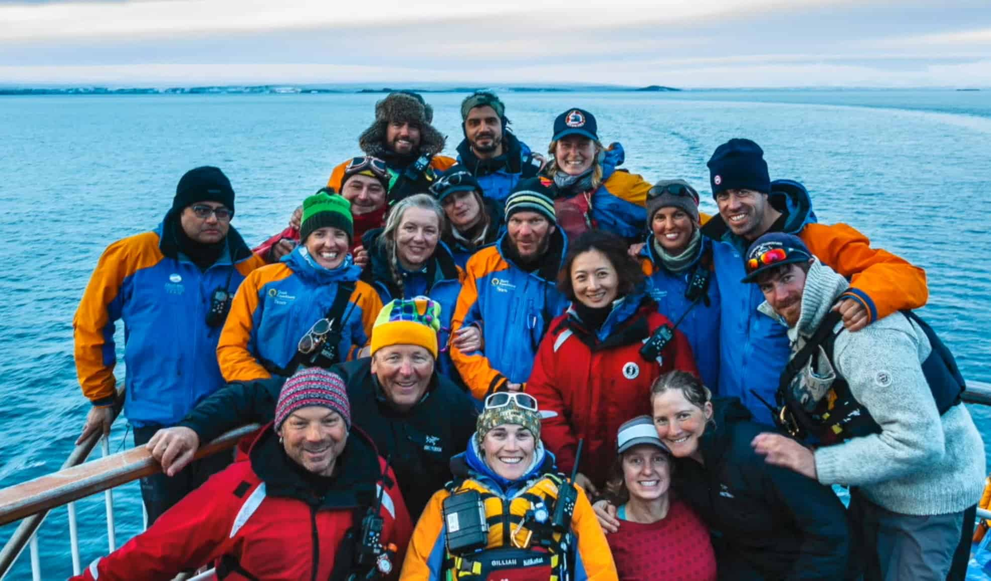 Quark Expedition Crew